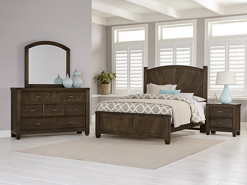 Rustic Cottage Poster Bed (King)