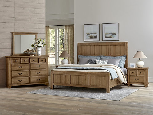 Timber Mill Broomhandle Bed (King)