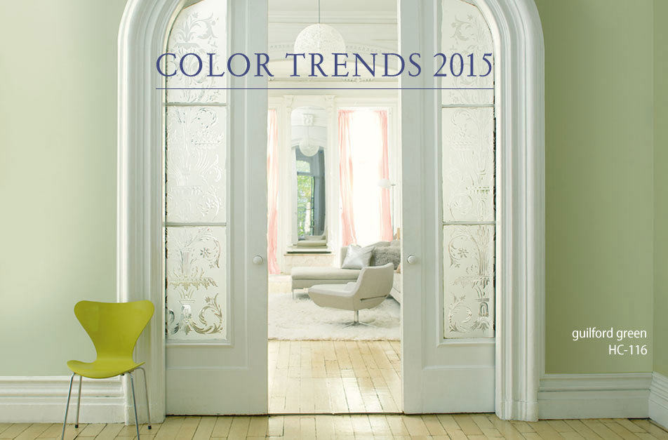 Guilford Green Paint Color