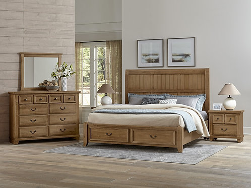 Timber Mill Timber Storage Bed (Queen)