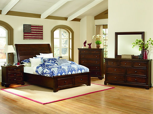Hanover Low Profile Bed (Queen)