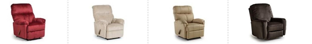 Different types of chair styles at TriCity Furniture