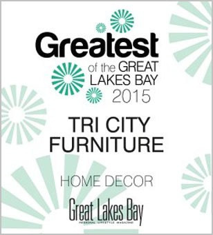 TriCity Furniture is the winner of Greatest of the Great Lakes Bay 2015