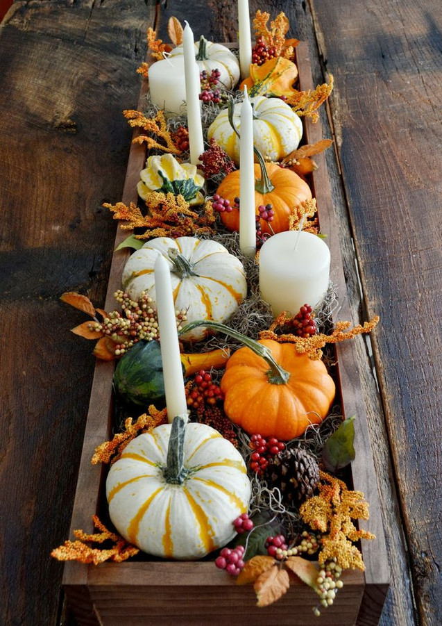 Ideas for your Thanksgiving Table Setup