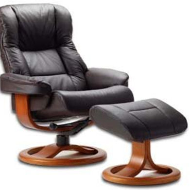 Loen Chair & Ottoman (Small)