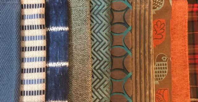Fabrics for custom furniture