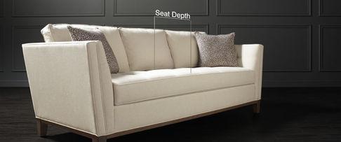 Furniture seat depth at Tri City Furniture