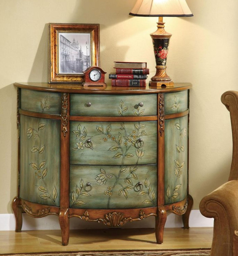 traditional chest and accent pieces