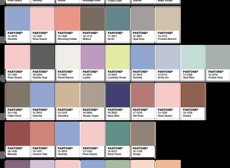 Pantone's Colors of 2016