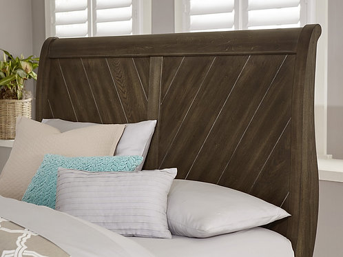 Rustic Cottage Sleigh Bed (King)