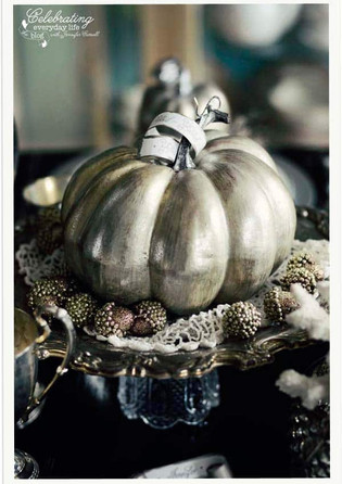 Fancy Table Decorations for Thanksgiving