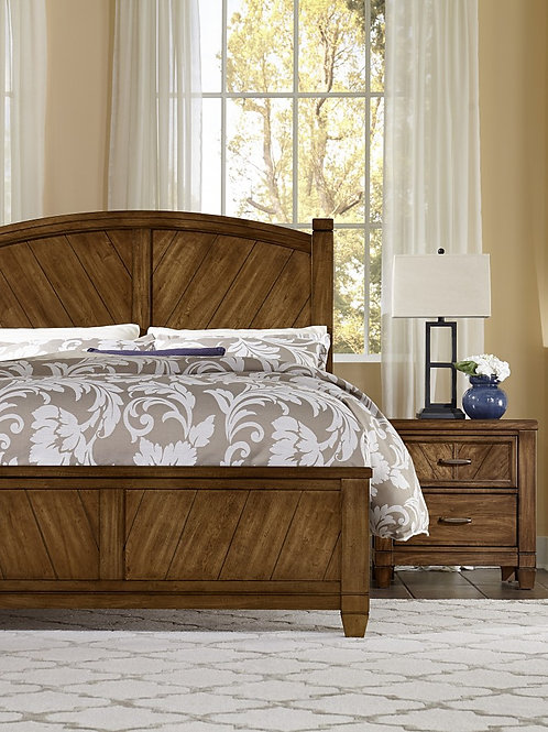 Rustic Cottage Poster Bed (Queen)