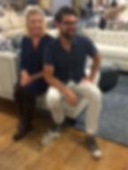 Janet and Brian Patrick Flynn at Norwalk Furniture