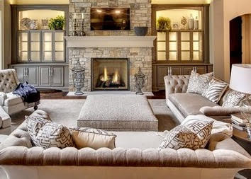 Transitional furniture styles
