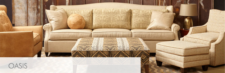 Sand colored sofa design from Norwalk