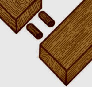Wood Framing of a Sofa