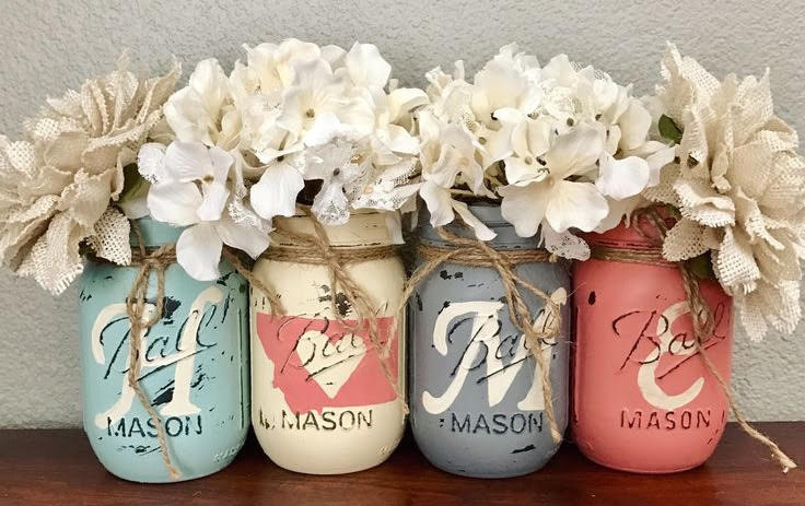 Mason Jars in Home Decor