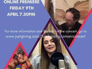 Concert launch 9th April!