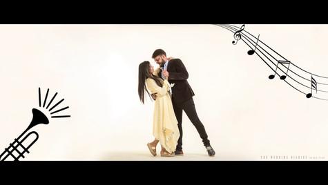 The Wedding Diaries - Tushar + Kanika Animated Save The Date 2018