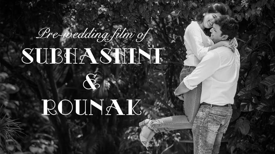 "The Wedding Diaries - Subhashini + Rounak ""Animated"" Pre-wedding film 2018"