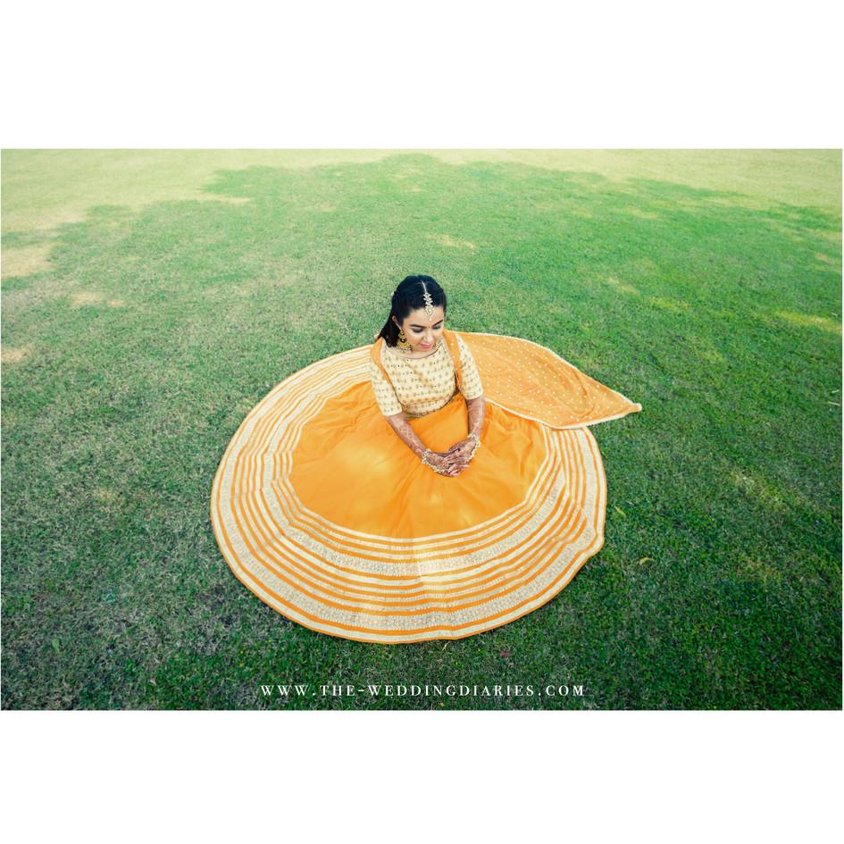 The Wedding Diaries - Bridal Portrait