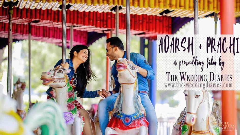 THE WEDDING DIARIES - Adarsh + Prachi Prewedding Directors Cut