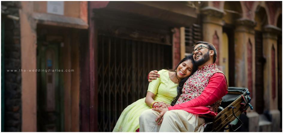 The Wedding Diaries - Pre- Roka shoot of Tushar and Kanika