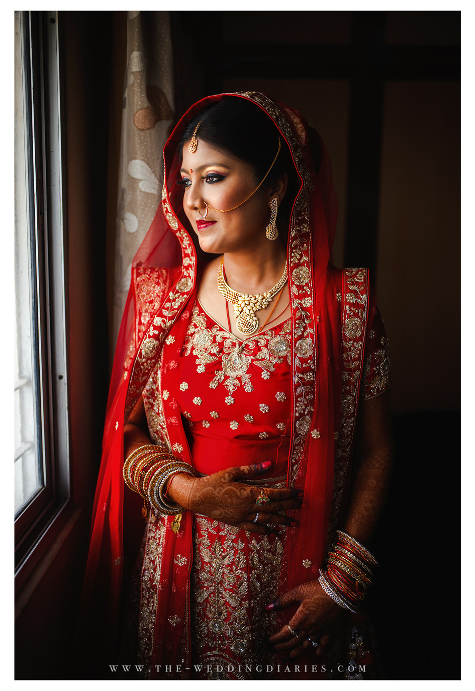 The Wedding Diaries - Bridal Portrait