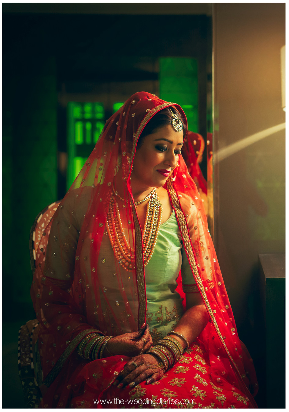 The Wedding Diaries - Bridal Portrait of Jiya