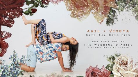The Wedding Diaries - Anil + Vijeta Save The Date Stop Motion Film 2021