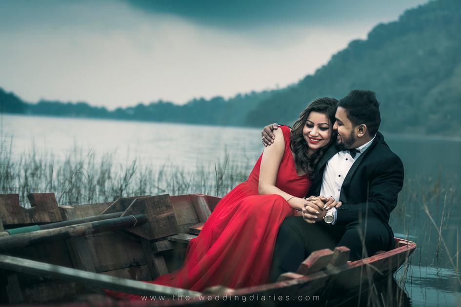 The Wedding Diaries - Pre-Wedding shoot of Punam and Pratik