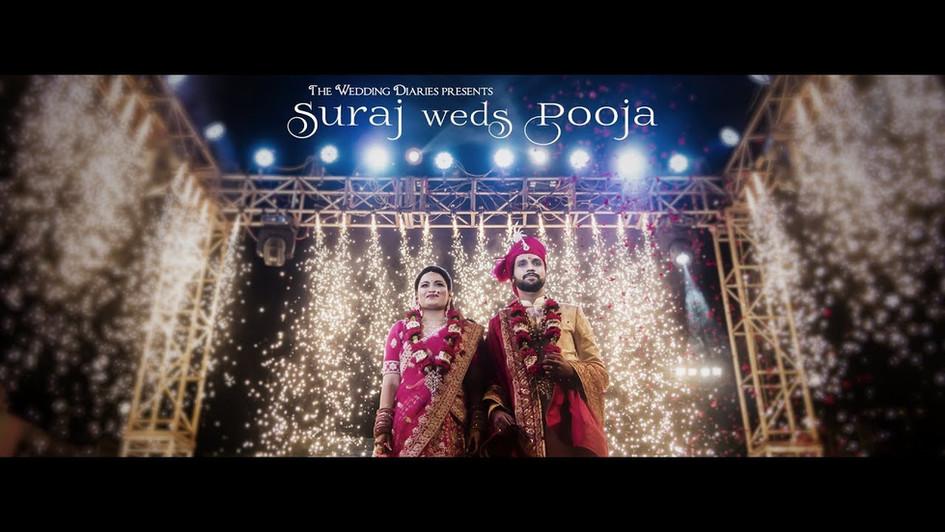 The Wedding Diaries - Suraj Goyal weds Pooja Dhona wedding varmala teaser film 2018