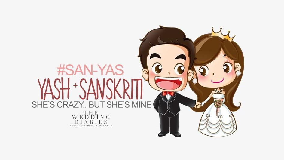 The Wedding Diaries #SanYas Prewedding music video 2019