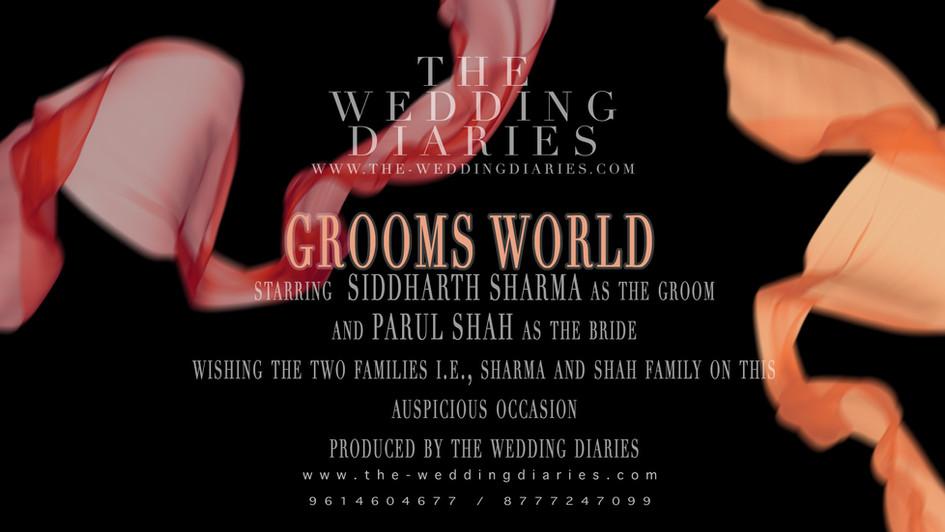 THE WEDDING DIARIES PHOTOGRAPHER Groom's video HD.mp4