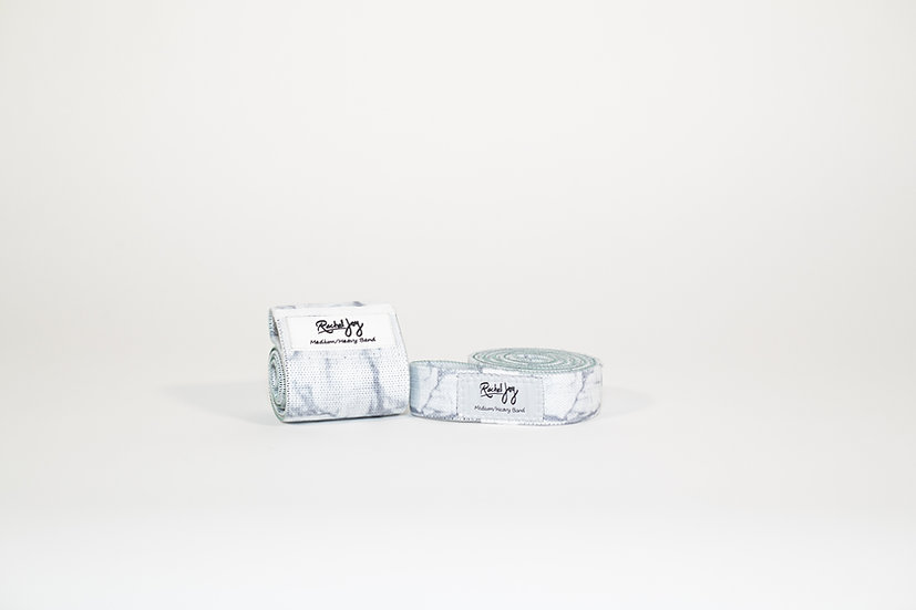 Medium/Heavy White Marble Bundle + Free Workout Guide