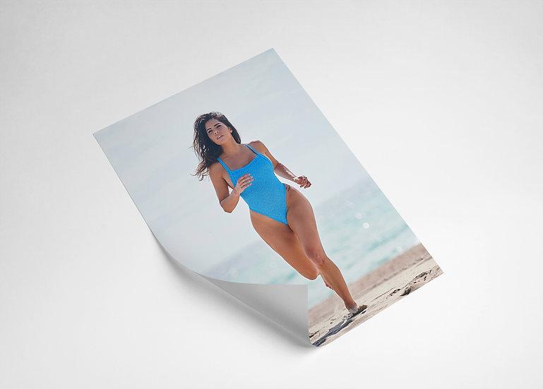 Signed Rachel Joy Poster - Blue Bay Watch