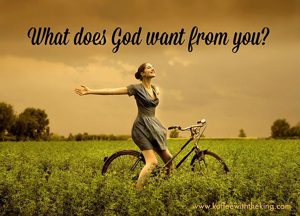 Bikes For Christ Donation Page - What does God want from you
