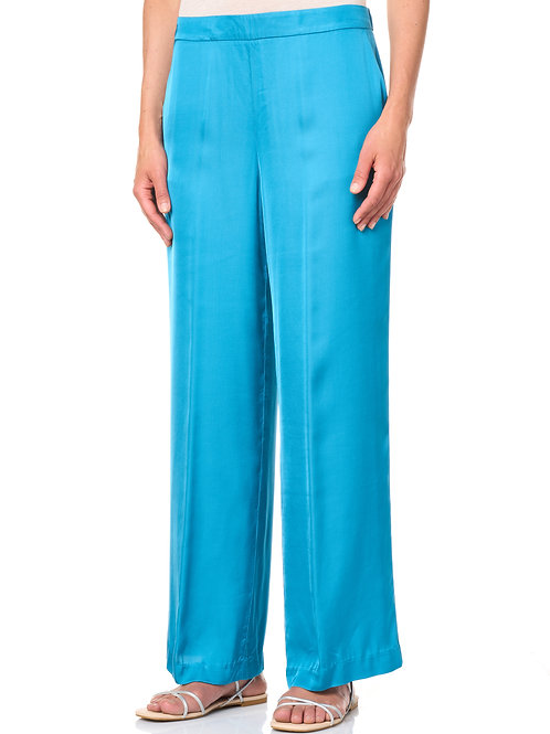 Pantalone in viscosa tinto capo