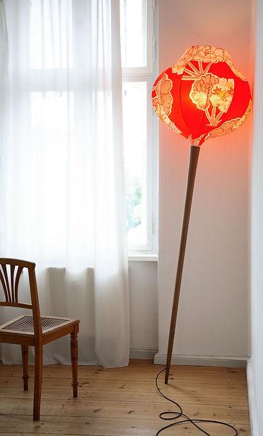Kimono Lampe