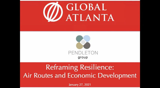 Reframing Resilience: Air Routes and Economic Development