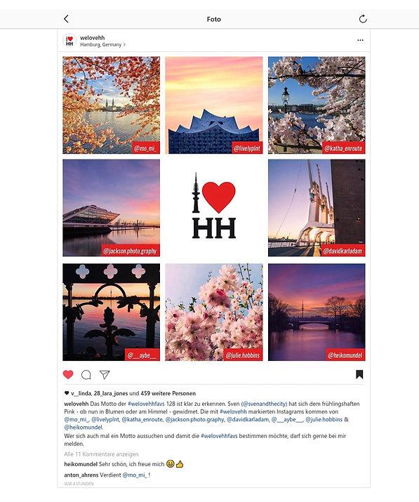 mein Bild bei Instagram