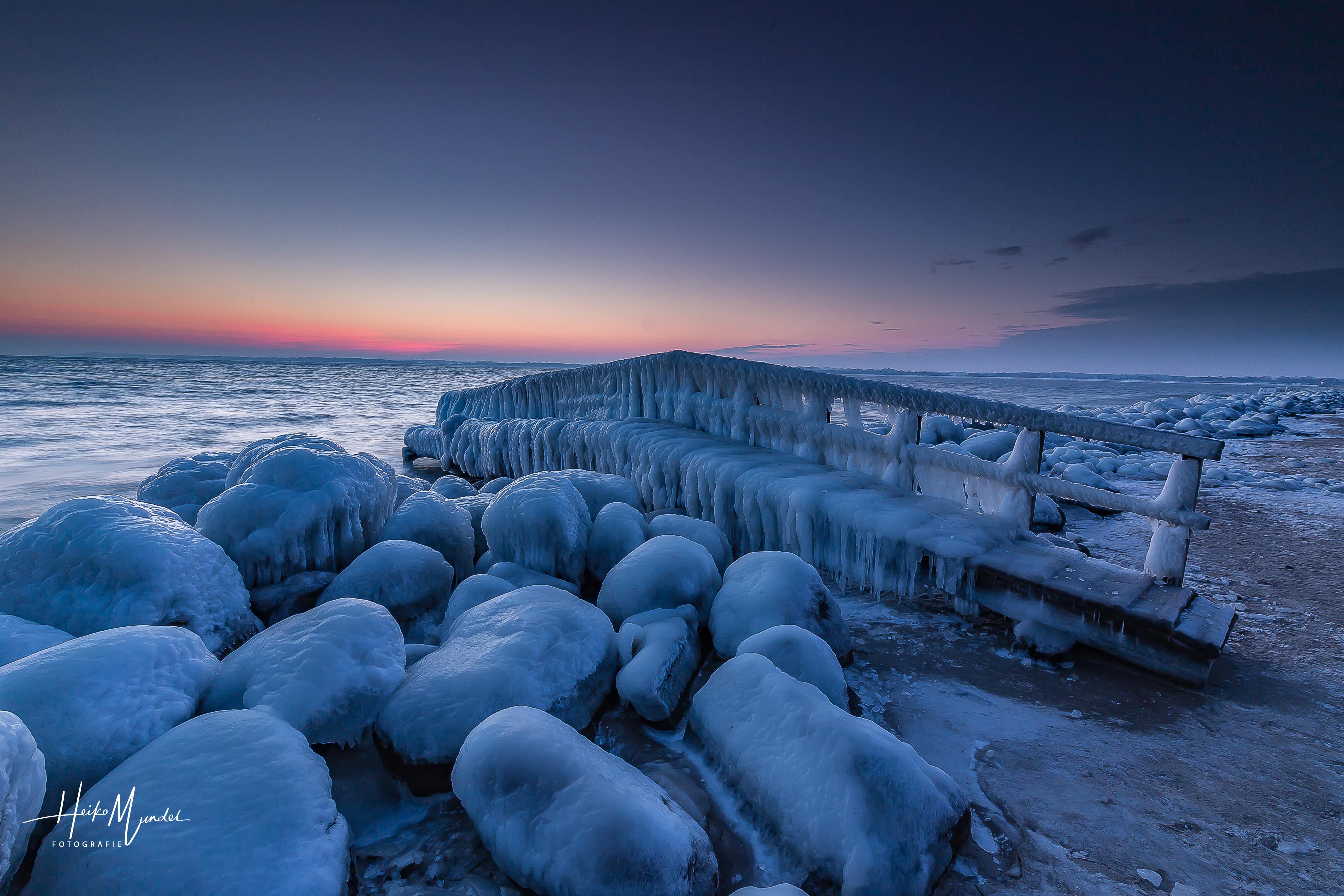 Eiszeit an der Ostsee -3-