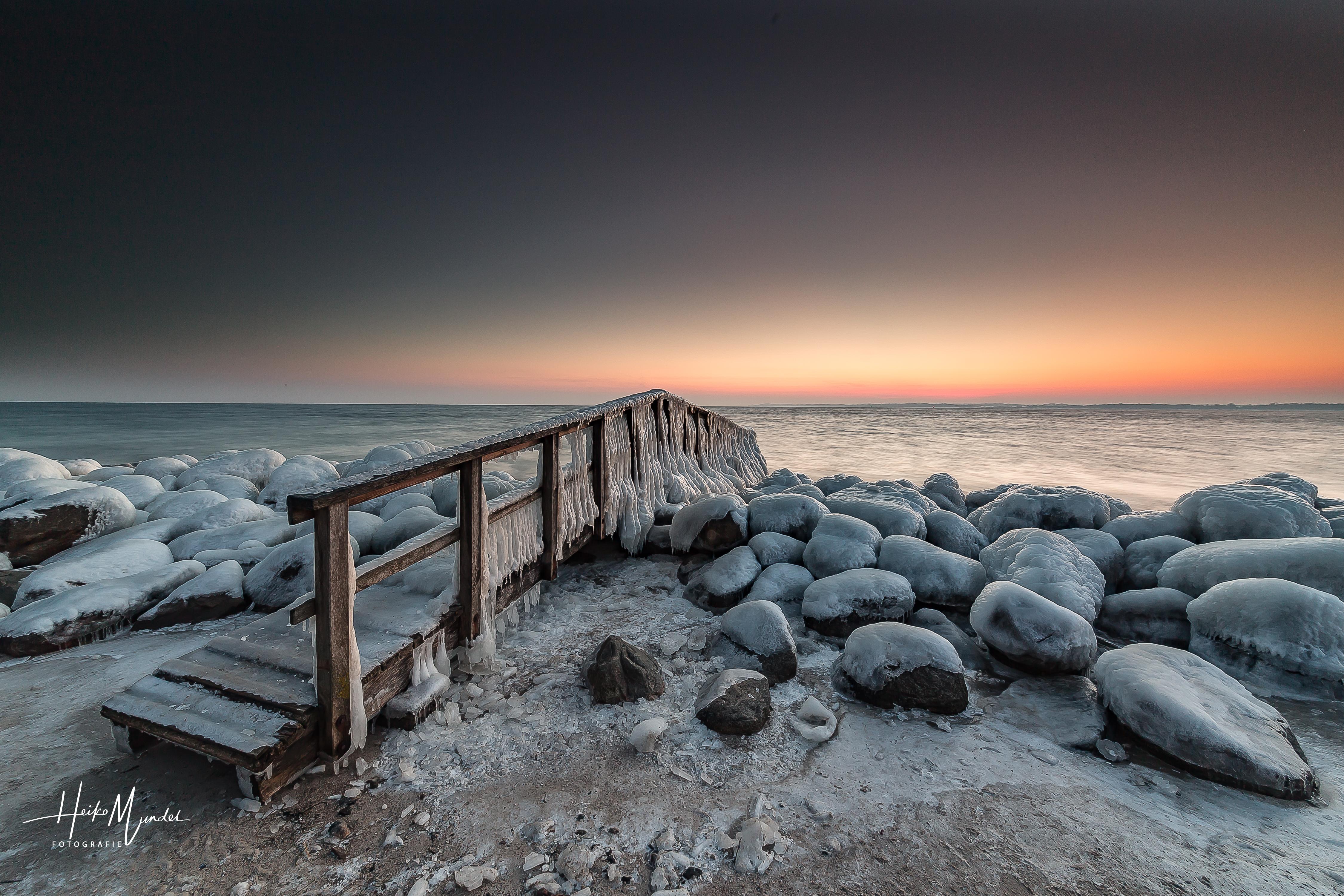 Eiszeit an der Ostsee -1-