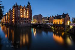 in der Speicherstadt, Hamburg