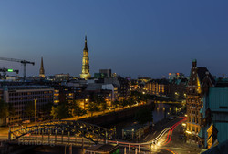 Blick auf St. Katharinen, Hamburg