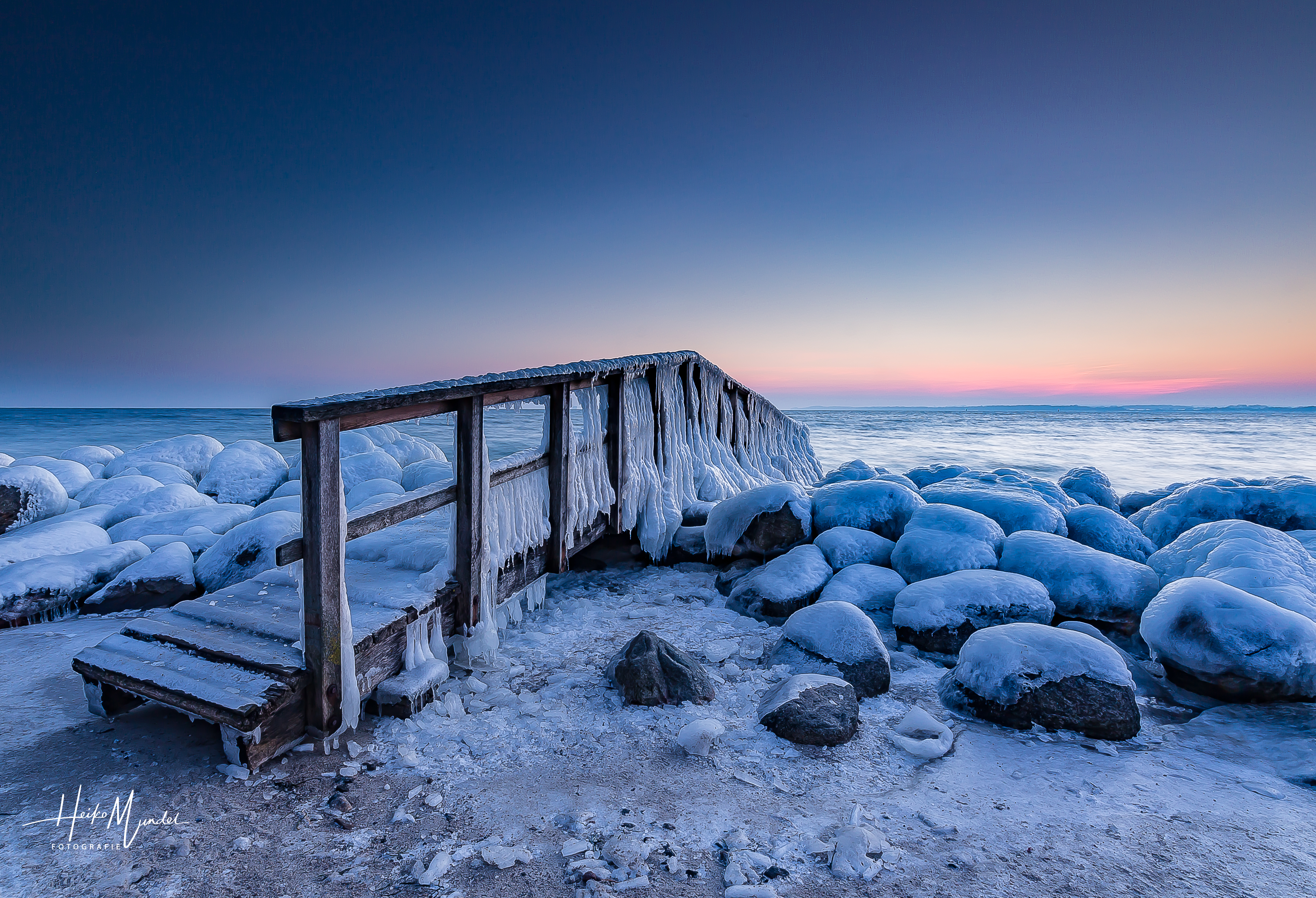 Eiszeit an der Ostsee -2-