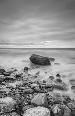 """""""Granit im Meer, am Kap Arkona auf"""