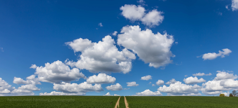 Wolken über Ostholstein