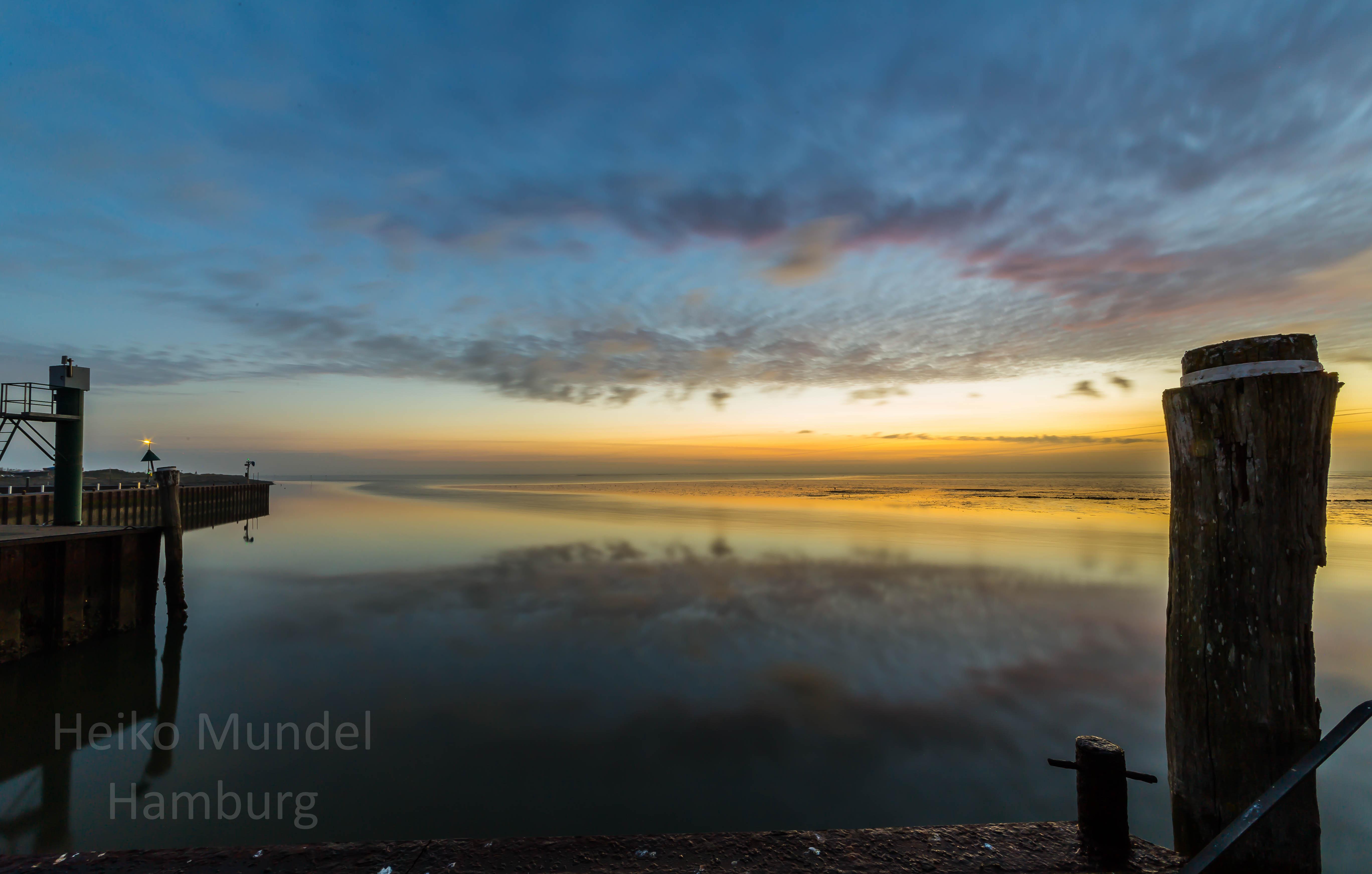 Sonnenaufgang in Munkmarsch, Sylt