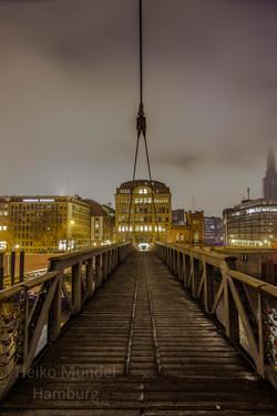 Brücke über den Binnenhafen, Hamburg